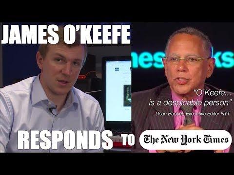 O'Keefe Response: NYT Exec Editor Calls Him