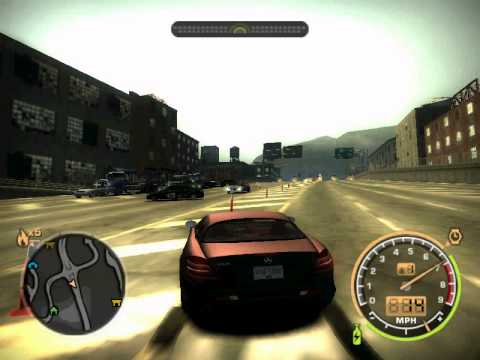 NFSMW(2005)ghost car ;how to find a code