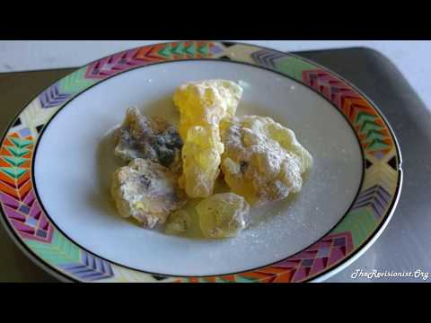 Boswellia Frereana Frankincense Taste Test & Scent Profile