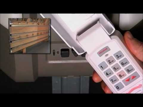How to Program a Garage Door Wireless Keypad to Opener | CodeDodger® 2 to Odyssey® & Destiny®