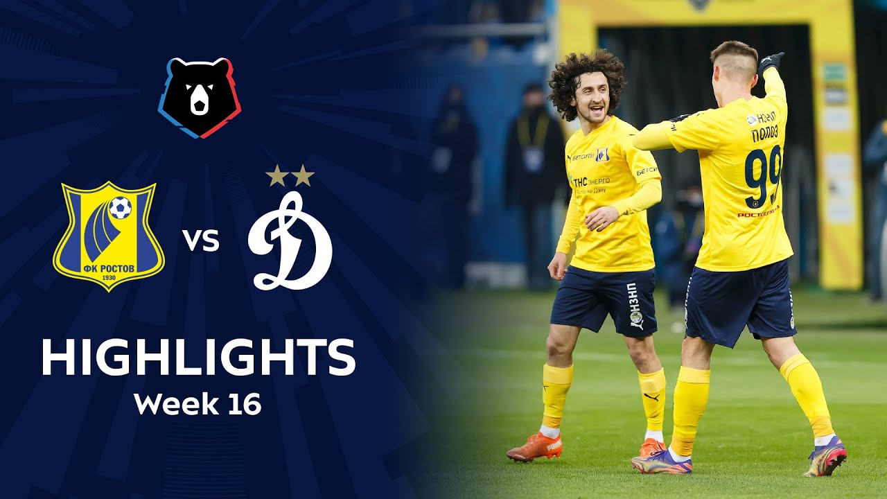 Highlights FC Rostov vs Dynamo (4-1) | RPL 2020/21