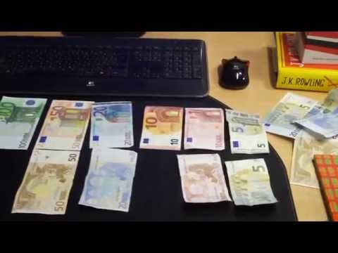 Euros Money Coins and notes explained for Travellers Euro Europe
