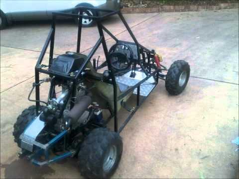 Homemade 250cc buggy - The Build.wmv