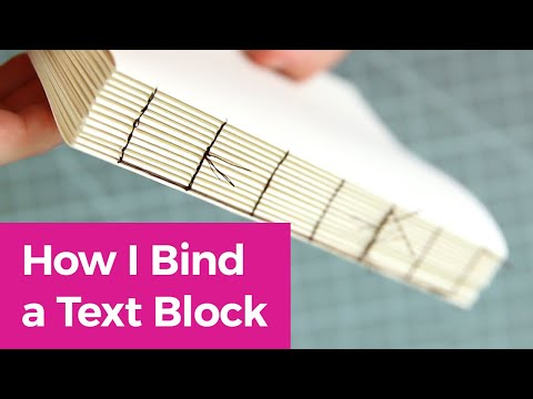 DIY Kettle Stitch Bookbinding Tutorial | Sea Lemon