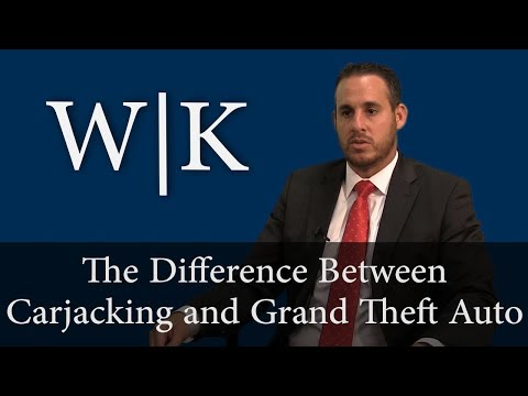 The Difference Between Carjacking and Grand Theft Auto