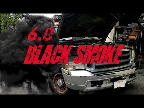 Ford 6.0l Black Smoke and Turbo Noise