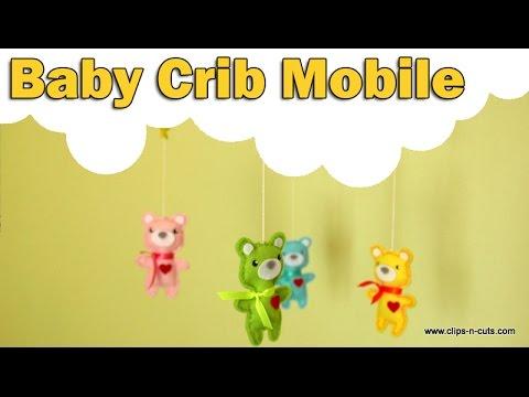DIY baby crib mobile | SSS Spring Plush dies