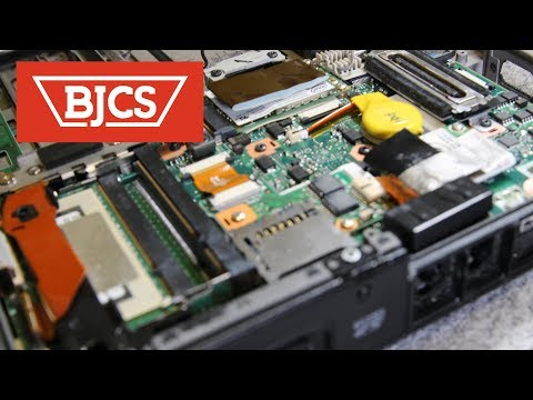 How To Replace Panasonic Toughbook CF-19 Docking Port and Pass-Through Antenna Connector