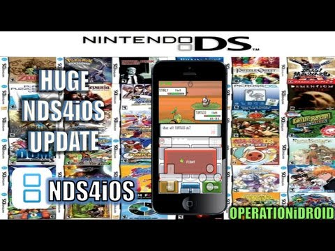 NDS4iOS: Huge Update ! Sound Added, Frame Skip, New UI & Much More