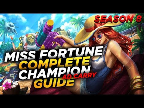 Miss Fortune: IT'S BULLET TIME! - League of Legends Champion Guide