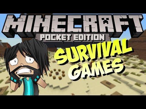 Minecraft PE (Pocket Edition) : Survival Games!