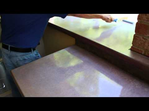 How to Seal and Polish your concrete countertops - Z Counterform