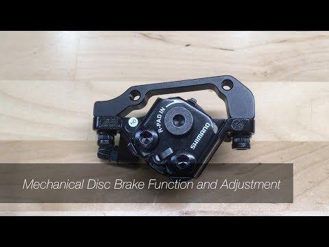 Mechanical Disc Brake Installation and Adjustment