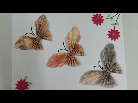 Note Packing-Type 5 Butterfly Making