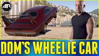 Forza Horizon 2 : FAST AND FURIOUS WHEELIE CAR!!! (Dom's Charger Daytona Wheelie Build)