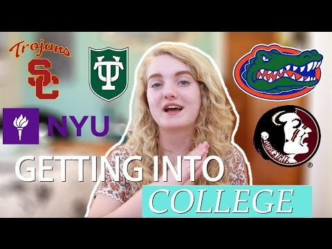 I GOT INTO EVERY COLLEGE I APPLIED TO?! | Rowan Born