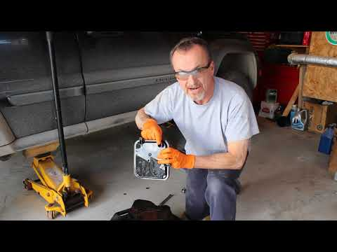 Jeep Liberty Transmission pan replacement