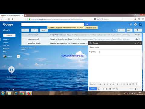 Formal email writing with gmail