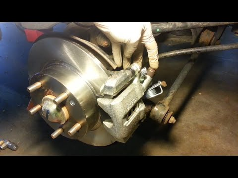 DIY fix for replacing rear brakes - Honda Accord