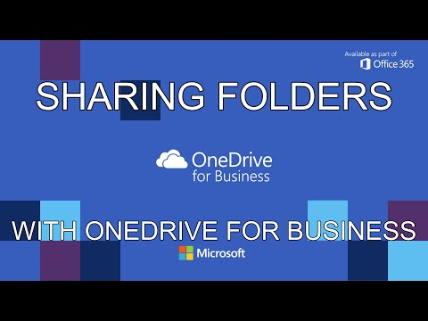 Sharing Folders With OneDrive For Business