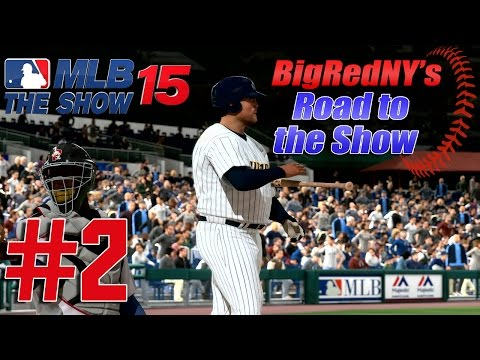 MLB 15 The Show PS4 Road To The Show - Ep. 2 -