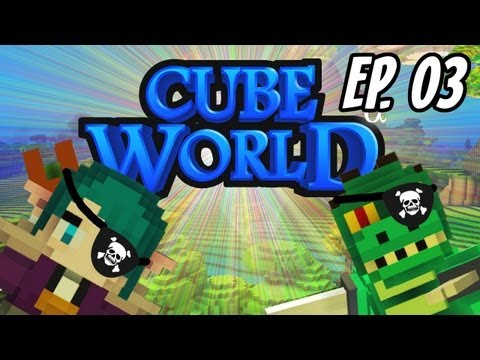 Ep. 3 - Monark e Leon no Cube World!