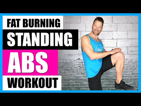STANDING ABS WORKOUT (Fat Burning) 🔥🔥 | 10 Min. Standing Abs Workout No Equipment- LIVE!