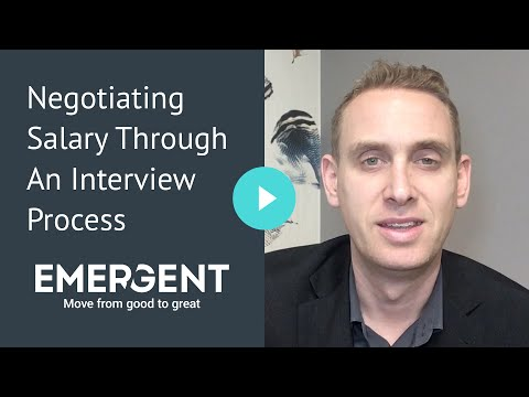 Negotiating Salary Through An Interview Process