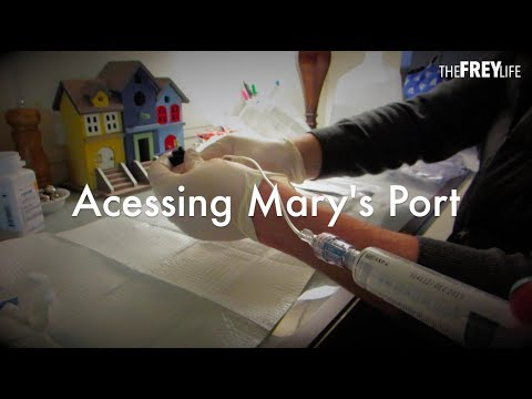 Accessing Mary's Port