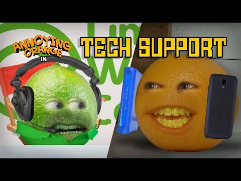 Annoying Orange - Tech Support