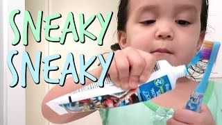 CAUGHT BEING SNEAKY! - March 13, 2017 -  ItsJudysLife Vlogs