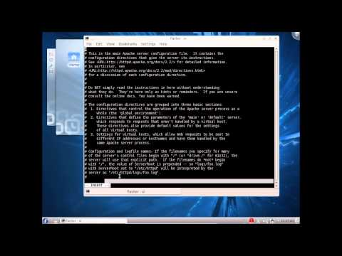 installation and configuration of web server on fedora/linux