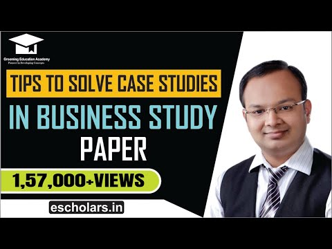 #9 | Tips to solve case studies in business studies paper