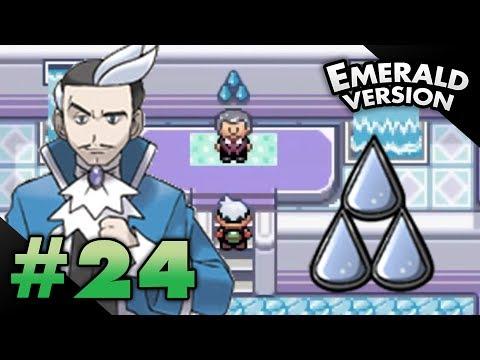 Let's Play Pokemon: Emerald - Part 24 - Sootopolis Gym Leader Juan
