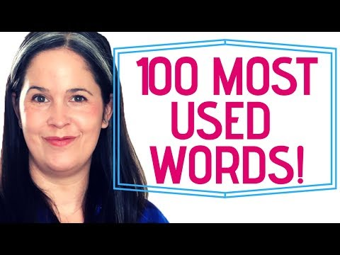 Learn English! | Perfect Pronunciation of Common English Vocabulary