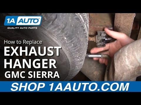How To Install Replace Broken Ripped Exhaust hanger Silverado Sierra Suburban 1AAuto.com