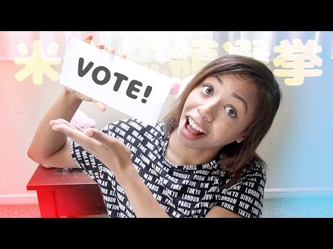 How I'm Voting from Japan (the Absentee Ballot) ★米大統領選挙~