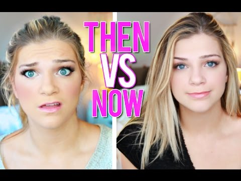 How I Did My Makeup In High School Challenge VS NOW
