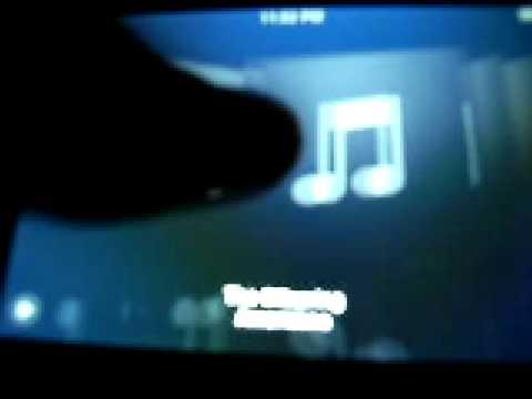 Ipod touch 2nd gen glitch