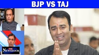 BJP MLA Sangeet Som Uses The Taj Mahal To Sow Seeds Of Hate | The Newshour Debate (16th Oct)