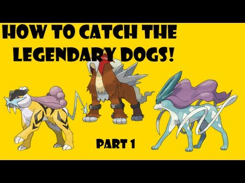 Simplest way to Catch the Legendary Dogs! -Pokemon Heart Gold and Soul SIlver
