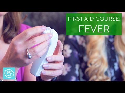 How To Treat A Fever | St John Ambulance & Channel Mum | First Aid Course