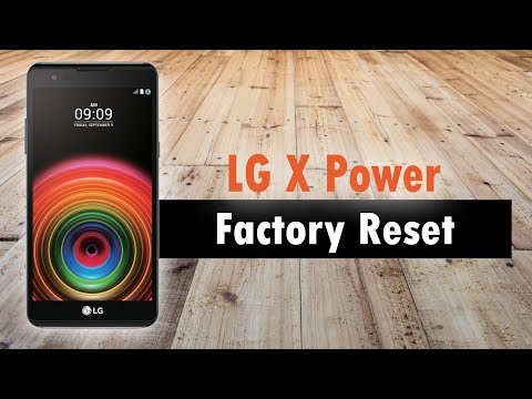 LG X Power How to Factory Reset