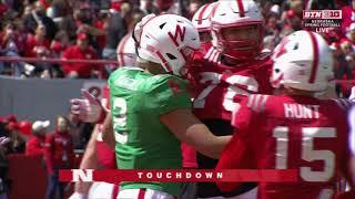 Download 2019 Nebraska Spring Football Game Video