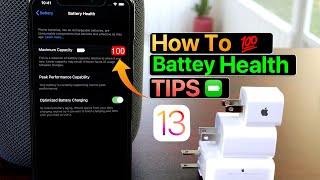 100 % Battery Health on iPhone - How i do it