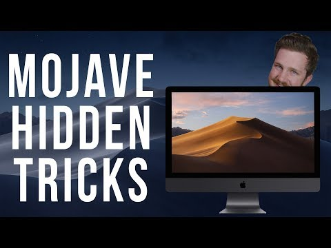 Hidden Features in the New macOS Mojave!