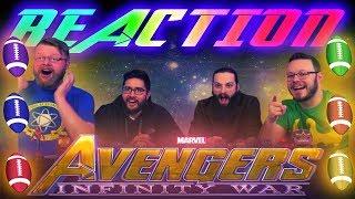 Marvel's Avengers: Infinity War - Big Game Spot REACTION!!