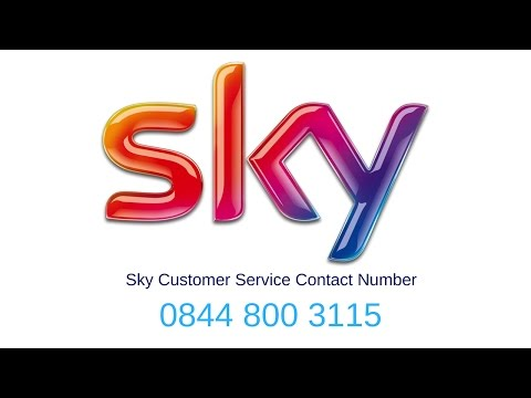 Sky Customer Services Free Number 0844 448 7500