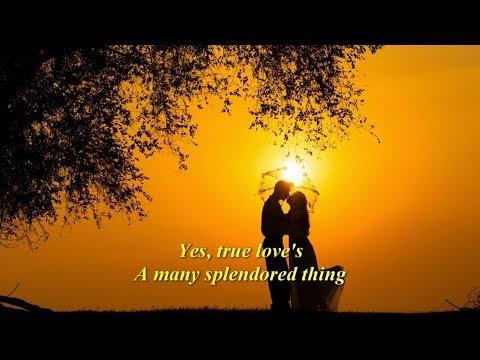 Love Is A Many Splendored Thing  (1962)  -  ANDY WILLIAMS  -  Lyrics