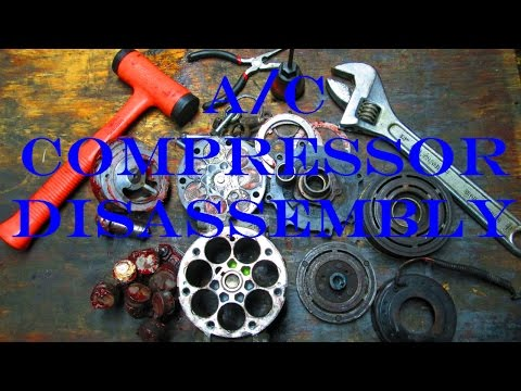 94-05 Dodge Ram A/C Compressor Dissasembly